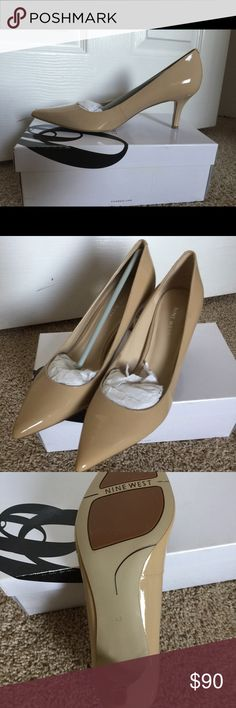Nine West Nude Shoes Brand new. In box. Never worn. Nude shoes. Open to offers. Buyer pays shipping. Nine West Shoes Heels