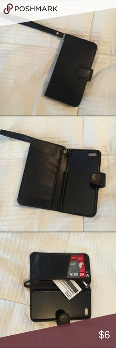 📱iPhone 5 wristlet📱 iPhone 5 wristlet case... Holds cards and money too. Great condition! Purchased at Forever 21. Forever 21 Bags Clutches & Wristlets