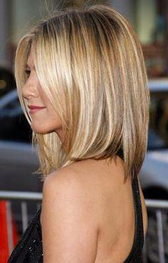 Blonde medium highlights