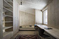 Sägerauer Rückzugsort - Wohnhaus von LP Architektur in Embach