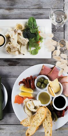 The perfect sharing plate at Mahurangi River Winery & Restaurant, Warkworth NZ - by Cindy Chen