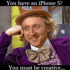 Willy Wonka iPhone 5