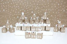 DIY Advent Calendar Projects – Easy! - Ideas and Tutorials!
