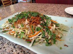 Salade fraîche vietnamienne - Recette de cuisine Marmiton : une recette