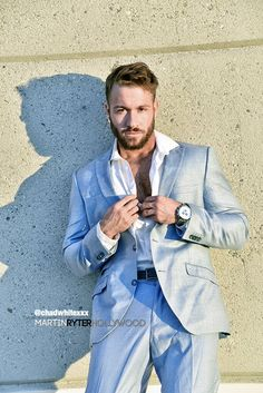 + Chad White Chad White, Suit Jacket, Cinema, Blazer, Suits, Model, Jackets, Male Clothing, Clothes
