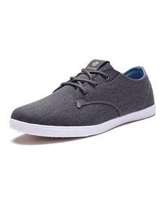 Gray Textured Sneaker