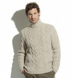Pull homme col chemise, où trouver des modèles à tricoter?  Question /