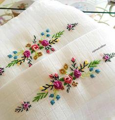 new brazilian embroidery patterns Ribbon Embroidery Tutorial, Floral Embroidery Patterns, Hand Embroidery Videos, Hand Work Embroidery, Embroidery Flowers Pattern, Creative Embroidery, Simple Embroidery, Silk Ribbon Embroidery, Hand Embroidery Designs