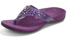 Pin Pearl Purple by Vionic for a chance to win 250$ gift card to SoleProvisions.com.