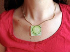 ice necklace by uvproductionhouse on Etsy
