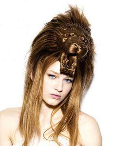 Peinado salvaje