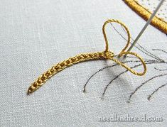 Silk Embroidered Blue Bird & Lessons Learned – Needle'nThread.com