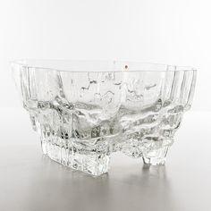 Auktion | Tapio Wirkkala Inari skål | Stockholms Auktionsverk Online | 878943 Glass Design, Design Art, Alvar Aalto, Auction