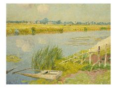 The Lily Banks by Emile Claus