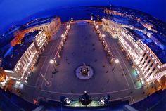 Piazza Unità Trieste a Natale