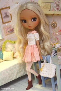 ♥ Ooak custom pullip doll CORALIE MELLOW ♥