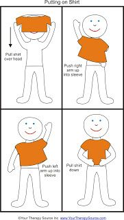 Your Therapy Source - www.YourTherapySource.com: Tips for Teaching a Child Dressing Skills