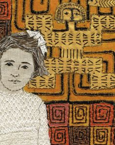 Sue Stone, figurative art textiles. A Grimsby Girl's world tour continues