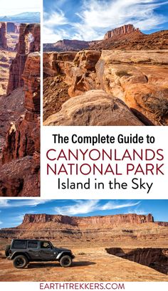 Canyonlands National Park: best things to do, including the best hikes and best views. The perfect guide for your first visit. Mesa Arch, Grand View Point, Upheaval Dome, White Rim Road, and more. #canyonlands #utah #hiking #nationalpark