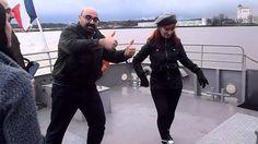 En Burdeos en el Garona Rosalia Gállego Avila bailando