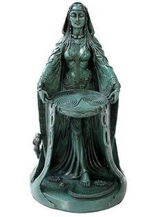 Celtic Danu Goddess (Mother of Abundance) Statue