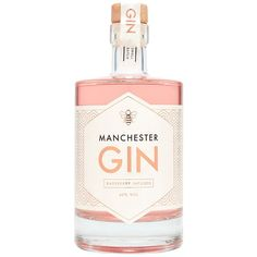 Manchester Gin Raspberry-Infused Gin (3.050 RUB) ❤ liked on Polyvore featuring home, kitchen & dining, fillers, food, drinks, detail and embellishment