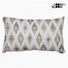 Cushion Grey (50 X 70 Cm) - Jungle Collection By Loom In Bloom