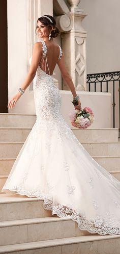 Stella York 2015 vestido novia