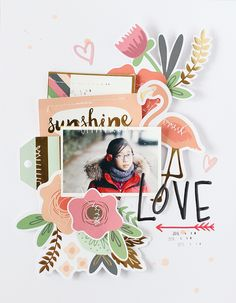 LAYOUT - LOVE by EyoungLee at @studio_calico