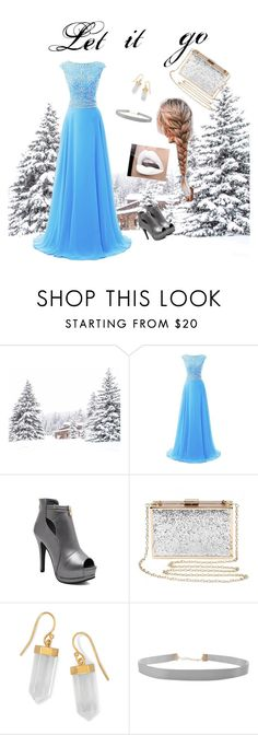 """Modern Elsa Disneys let it go"" by fashion-is-my-everything1 ❤ liked on Polyvore featuring BillyTheTree, Humble Chic and modern"