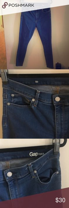 Size 32 gap skinny jeans Like new condition and very comfortable GAP Jeans Skinny