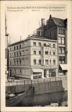 Ak-Berlin-Mitte-Kulmbacher-Bierhaus-Inh-Carl-Rademacher-Friedrichsgracht 50, Kleine Gertraudenstr. 3
