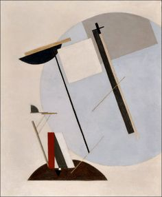 Proun 3A (c.1920). El Lissitzky. Oil on canvas