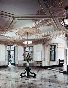 Ceiling design - detailed old world elegance - beautiful work of art | Francoise Bollack Architects