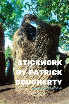 North Carolina artist Patrick Dougherty created 'Stickwork' for the Detroit Month of Design and Sidewalk Detroit. Click the pin to see more photos of the art installation at Eliza Howell Park. Detroit Art, Museum Of Contemporary Art, More Photos, Installation Art, Home Art, Sculpture Art, Art Gallery, Sidewalk, Park