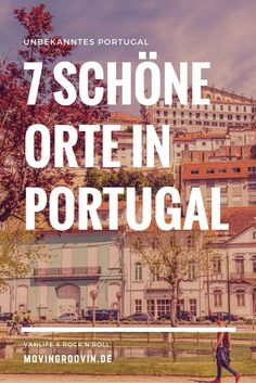 Here I would like to introduce you to 7 beautiful places that I have remembered during my trip through Portugal. Because Portugal has so much more to offer than Lisbon, Porto and Algarve! Algarve, Spain And Portugal, Portugal Travel, Europe Destinations, Best Places In Portugal, Road Trip Europe, Reisen In Europa, Road Trip Hacks, Most Beautiful Cities
