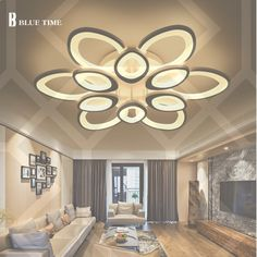 Cheap modern led ceiling lights, Buy Quality ceiling lights directly from China light for living room Suppliers: Modern Led Ceiling Lights For Living Room Bedroom Luminarias para sala White Led Ceiling Lamp Deckenleuchten square meter Modern Led Ceiling Lights, Ceiling Light Design, False Ceiling Design, Ceiling Decor, Ceiling Lamp, Ceiling Ideas, Ceiling Lighting, False Ceiling Living Room, Bed In Living Room