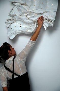 Magnetic Curtain by Florian Kräutli