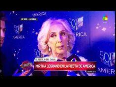 """Mirtha Legrand """"Scioli no me quiere llevar a la Justicia"""""""