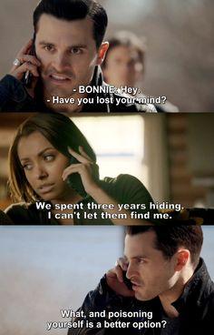 The Vampire Diaries TVD 7X20 - Bonnie & Enzo