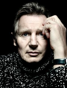 Liam Neeson by Platon #celebrities