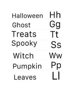 Halloween PreK | Kindergarten | Word Wall | PreWriting | Tracing Cards Spooky Words, Halloween Words, Word Wall Kindergarten, Kindergarten Reading, Funny Effects, Multiple Meaning Words, Pre Writing, School Themes, Tot School