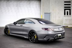 Mercedes Benz S63 AMG Coupe On Vossen Wheels