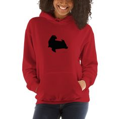Great New York City Street Style Casual Sweatshirt for women Hooded Sweatshirt. Everyone needs a go-to, cozy sweatshirt to curl up in, so go for one that's soft, smooth, and stylish. It's also perfect for cooler evenings! Still I Rise, Lucky Ladies, Red Logo, Casual Street Style, Sport Outfits, Hooded Sweatshirts, Just In Case, Hoods, At Least