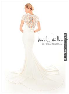 Nicole Miller 2013 | CHECK OUT MORE IDEAS AT WEDDINGPINS.NET | #weddingfashion