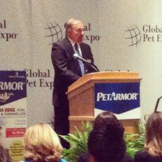 APPA President Bob Vetere at #globalpetexpo press conference
