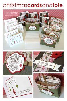 Lisa's Creative Corner: Christmas Cards & Tote Project Kit