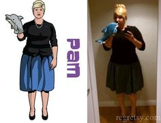 Archer's Pam. Thinking about doing this for Halloween.