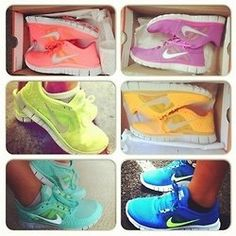 Nikes <3 I'll take every pair - Click image to find more Women's Fashion Pinterest pins