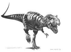 Tyrannosaurus rex by PaleoPastori
